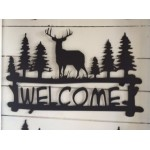 Deer  Welcome